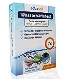 aquaself Wasserhärte Teststreifen – 7 Stück – Deutscher Härtebereich °dH – Wasserhärte...