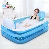 Aufblasbares Bad, die Wanne ist Gefaltet, Verdickte Erwachsene Wanne Badewanne Badewanne Barrel...