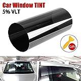 JoyFan autosolarfolie, spiegel fensterfolie für auto windscreentinted in schwarz klar solarfolie...