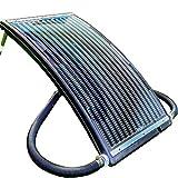 Hecht Solar Poolheizung 305810 Sonnenkollektor (2 bar, 14 Liter Fassungsvermögen, 110x65cm,...