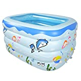 BEAGHTY Kinder Aufstellpool, Aufblasbarer Pool Baignoire Gonflable Bébé Nouveau-Né Piscine...