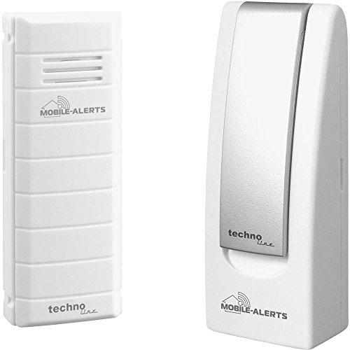Mobile Alerts MA 10001 Starter Set Hausüberwachungssystem,2-teilig, inklusive Gateway und...
