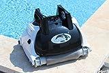 Orca 105998 Reinigungsroboter für Pool, Boden und Wand, O150, Schwarz, Weiß