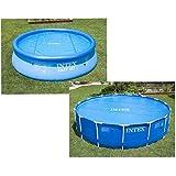 Intex Solarabdeckplane für Easy & Frame Pool Ø 366 cm, Stärke 120 Mikron, Fertigungsmaß: ca. Ø...