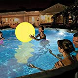 MARTINSHARK Poolspielzeug 13 Farben LED Light Glow Ball丨16 '' Aufblasbarer Beach Ball mit...