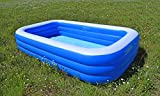SportFit 600-28 XXL Familienpool Pool Riesenpool Kinder Aufstellpool - Planschbecken - Family Pool -...