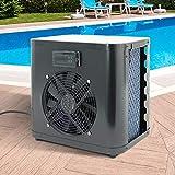 ML-Design Mini Wärmepumpe für Pools bis 20.000l Wasserinhalt Heizleistung 4kW Betriebsspannung...