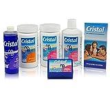 Bayrol Cristal Poolpflege-Set Sauerstoff 4,1 kg - Wasserpflege Starter Set für die chlorfrei Pool...