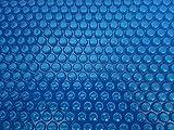 Solarfolie 400µm Oval 7,00 x 3,50m Poolabdeckung Schwimmbadfolie Luftpolsterabdeckung