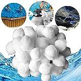 wolketon Filter Balls 700g Filterbälle Filtermaterial ersetzen 25 kg Filtersand für Pool...