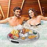 GAOwi Sommer Party Bucket Cup Holder Aufblasbare Pool Float Bier Getränk Kühler Tischbar Tablett...
