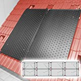 SAXONICA Poolheizung Solar Schwimmbad Pool Heizung HelioPool®   4 x 2 STK waagerecht   9,6 qm...