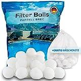Farrell Brec 700g Filterbälle inkl. GRATIS Wäschenetz - Extra langlebige Filter Balls für...