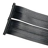 cs-trading ZELSIUS Solarheizung Poolheizung Sonnenkollektor Solarabsorber Solarmatte für Swimming...