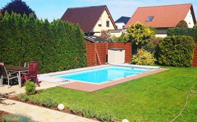 Garten Pool mit Pumpe - Solar Poolheizung - Umweltfreundlich und preiswert deinen Pool beheizen!